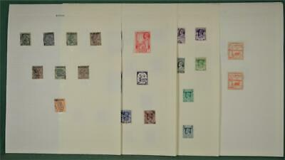 Burma Stamps Selection Of  Issues On 6 Pages  (H81)