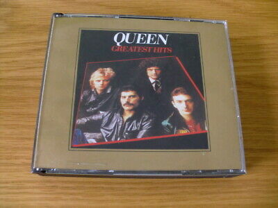 QUEEN: GREATEST HITS 1 & 2 (2 CD SET) GOLD EDITION 1p!!!!!!!!!!!