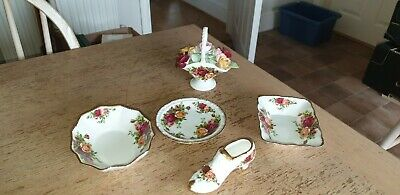 Royal Albert Old Country Roses Trinket Bowls And Accessories