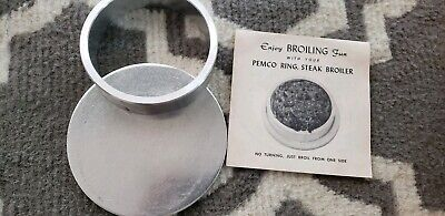Pemco Steak Broiler Rings New Never Used Vintage Very Unique Varieties Of Meats