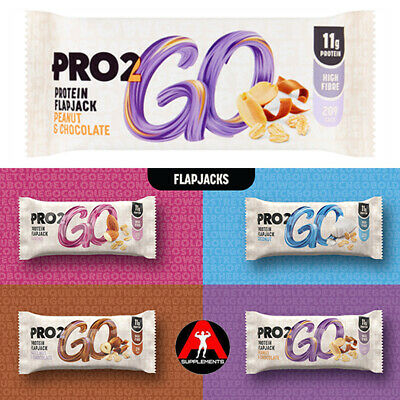*NEW* Sci-mx PRO 2GO FLAPJACK High in fibre & only 207 kcals 3|6|9|12 Bar Box