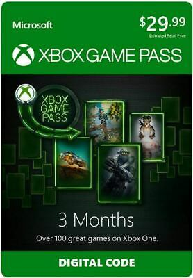 Xbox Game Pass -3Month Download Key (Xbox One/PC)