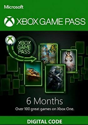 Xbox Game Pass 6 Month For Xbox 360/One Download Key SALE OFF %40