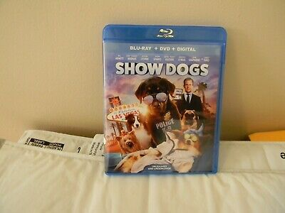 Show Dogs (Blu-ray/DVD, 2018, 2-Disc Set)See Description