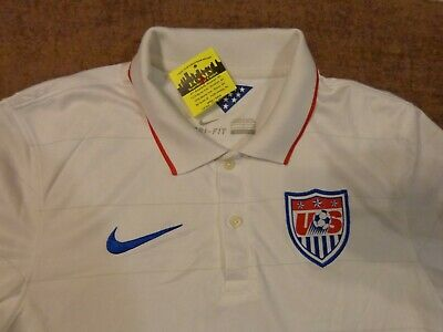 8331f6ed7 Nwot Nike Dri Fit Golf Polo 2014 Authentic Usa Team Sm Men S S Shirt