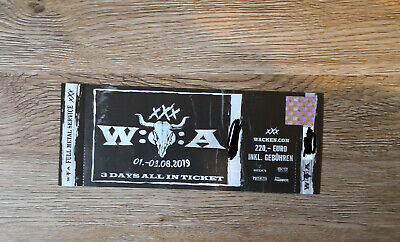 "WACKEN Open Air 2019 ""3 Days All In"" Festival Ticket - SOLD OUT -"