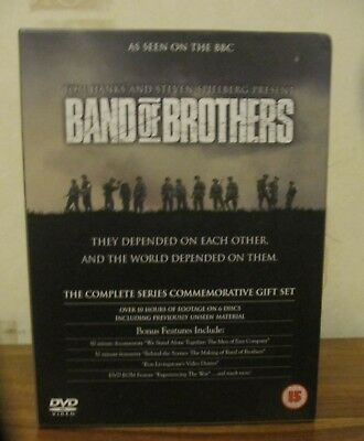 Band Of Brothers 6-Disc DVD Set 2002: Complete series commemorative gift set VGC