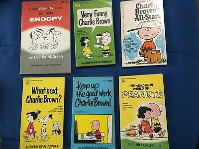 3 Peanuts/Snoopy Books *Used/Nice Condition*