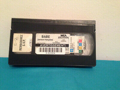 Babe  VHS tape only french