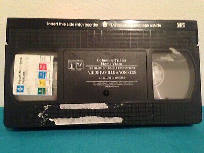 Lost in yonkers    VHS tape only french
