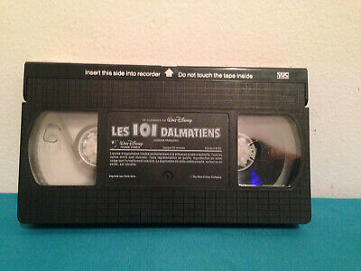 Les 101 dalmatiens  VHS tape only french