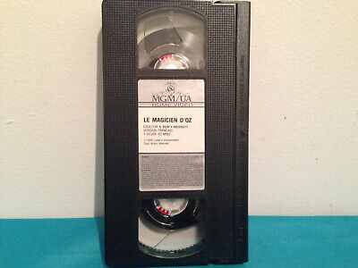 Le magicien d'oz   VHS tape only french