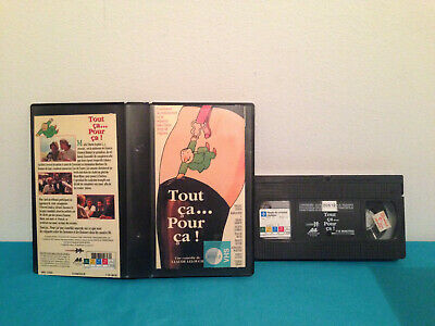 Tout ca... pour ca !  VHS tape & rental case FRENCH