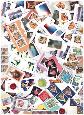 Usa Unfranked Uncancelled  Stamps On Paper Face Value $164
