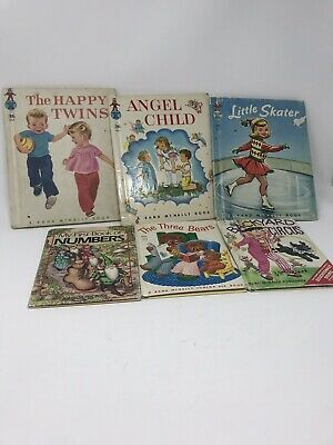 VINTAGE LOT of 6 CHILDRENS BOOKS RAND McNALLY 1942-1987