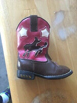 f896b70e9 NEW GIRLS CARTERS Baby Toddler Size 5 6 8 9 or 10 Ankle Cowboy Boots ...