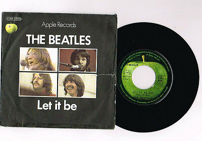 """The Beatles """"Let It Be"""" 7 """" French Rare"""