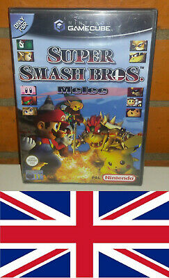 Super Smash Bros. Melee für Nintendo Gamecube, NEU, rotes Siegel, UK