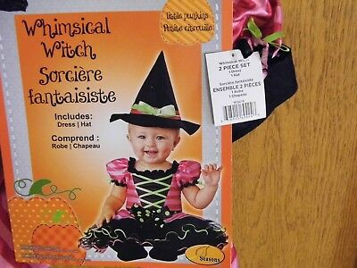 Witch Costume/ Adorable 6-12 Month