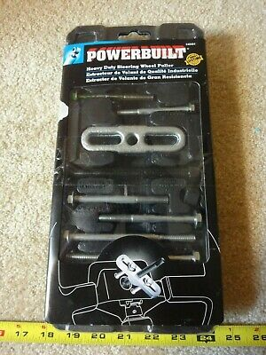 Powerbuilt Heavy Duty Steering Wheel Puller Set 648464. New!