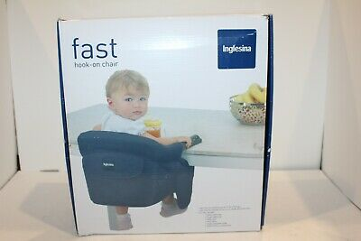 Inglesina Baby Toddler Fast Hook-On Table Green Chair w/ Dining Food Snack Tray