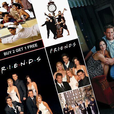 Friends TV Show Posters A4 HD Gloss Prints Art Decor Central Perk Joey Ross