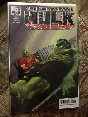 Immortal Hulk 15 2019 Alex Ross Main Cover 1st Print Marvel Comics