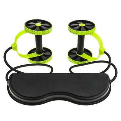 Power Roll Ab Trainer Abdominal Full Body Muscles Workout Arm Waist Leg Exercise