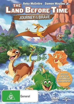 The Land Before Time Journey Of The Brave DVD (Region 4)