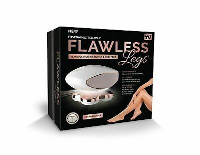 Finishing Touch Flawless Legs Women's Wet Dry Hair Removal USA FAST SHIPPING