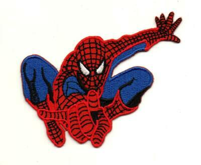 Spiderman Superhero P721 Embroidered Iron on Patch High Quality Hat Bag Jacket