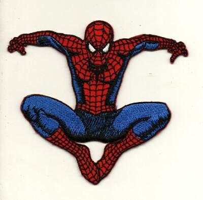 Spiderman Superhero P734 Embroidered Iron on Patch High Quality Hat Bag Jacket