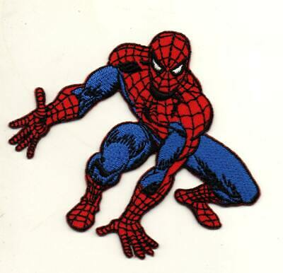 Spiderman Superhero P744 Embroidered Iron on Patch High Quality Hat Bag Jacket