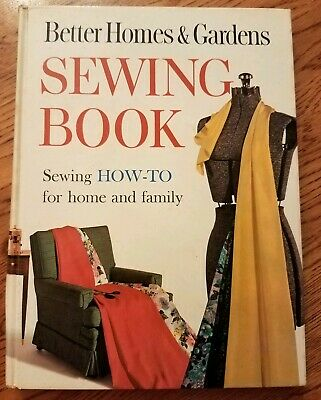 1961 Better Homes & Gardens Sewing Book-How to Sew for Home & Family-Hardcover