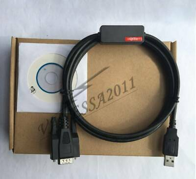 New Smart Usb-xw2z-200s Usb-xw2z-200s-cv Programming Cable For Omron Plc Hmi Rs232 Db9 Support Win7 Usb To Rs232 db9f
