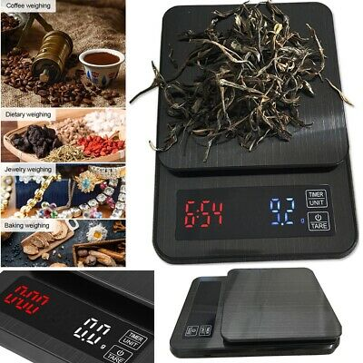 5kg/0.1g Electronic Digital LCD Kitchen Food Grain Coffee Jewellery Weight Scale