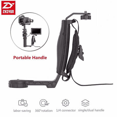 Zhiyun Transmount Mini Dual Grip L Bracket for Zhiyun Crane 2 Plus M LED Monitor