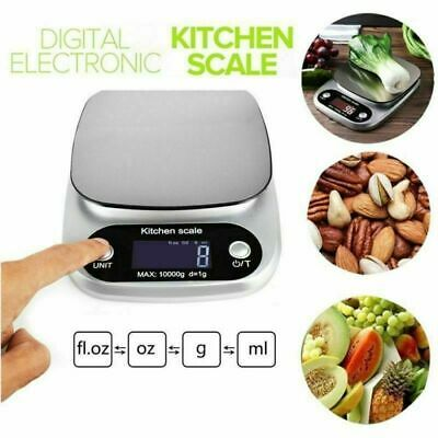 Digital Electronic Pocket Food Weight Scale Mini LCD Kitchen Weighing 1g-10kg