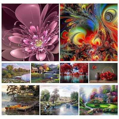 5D Diamond Painting Diamant Kreuzstich Stickerei Malerei Bilder Landschaft SEC