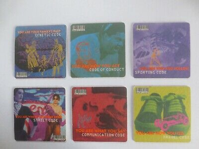 complete set of 6 HAHN ICE Brewery,New South Wales   Issue collectable COASTERS