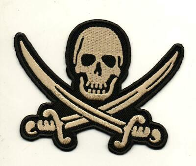 Skull Skeleton Key Rockabilly Retro P890 Embroidered Iron on Patch High Quality
