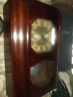 Carillon WESTMINSTER ODO 30 8 marteaux & 6 TIGES  old wall clock ODO