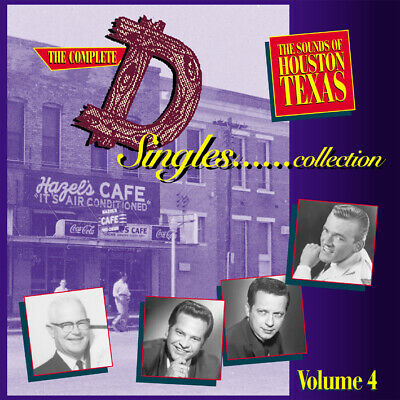 """Various Artists- The Complete """"D"""" Singles Collection Vol. 4   [4-CD Bear Family]"""