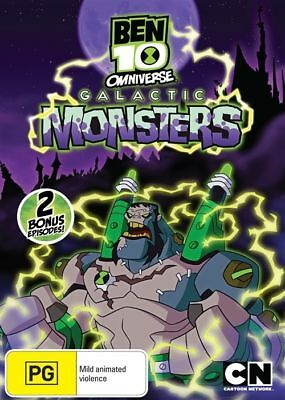 Ben 10: Omniverse - Galactic Monsters - DVD (NEW & SEALED)