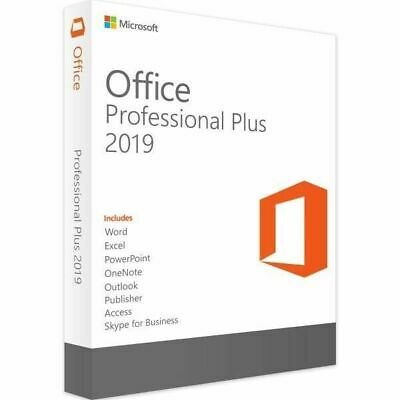 ✶ Microsoft Office Pro Professional PLUS 2019 - For 5 PC - 32 & 64 BIT ✶