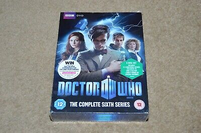 DOCTOR WHO Complete Sixth Series DVD box set NEW SEALED