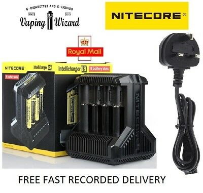 AUTHENTIC Nitecore i8 8BAY 2018 Intelligent 18650 26650 20700  Battery Charger