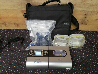 ResMed S9 w/H5i Humidifier CPAP Continuous Positive Airway Pressure Used w/Bag