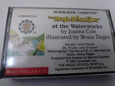 The Magic School Bus At The Waterworks Cassette Tape NEW SEALED Scholastic
