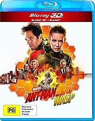 Ant-Man & The Wasp 3D & 2D Blu-ray New & Sealed